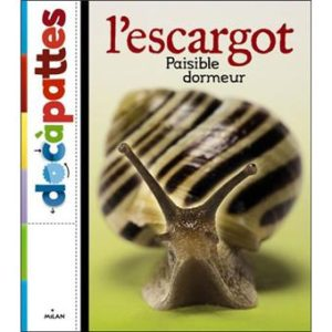 L'escargot. Livre jeunesse. Paul Starosta